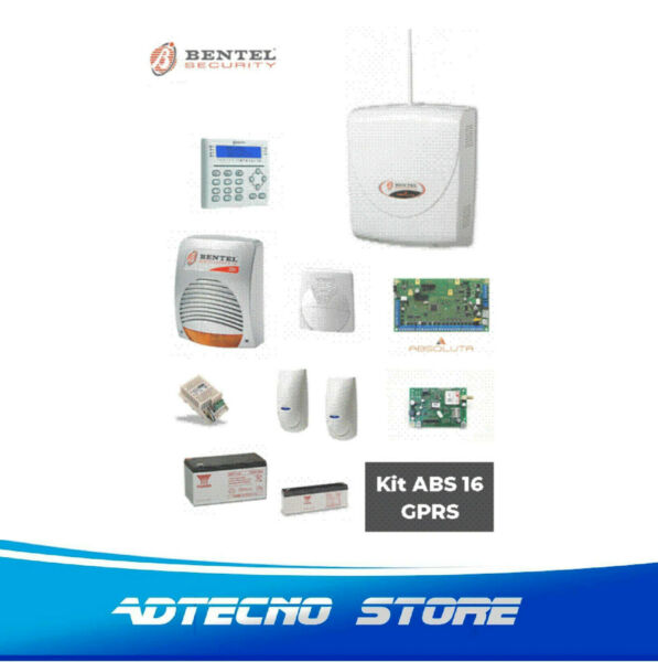 BENTEL KIT ABSOLUTA 16 GPRS