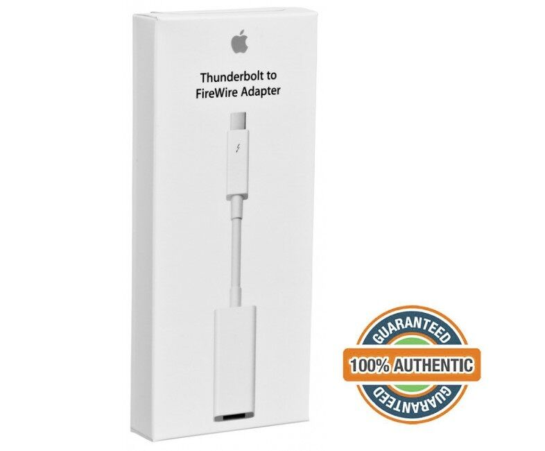 100% Original Genuine Apple Thunderbolt to FireWire Adapter Cable ...