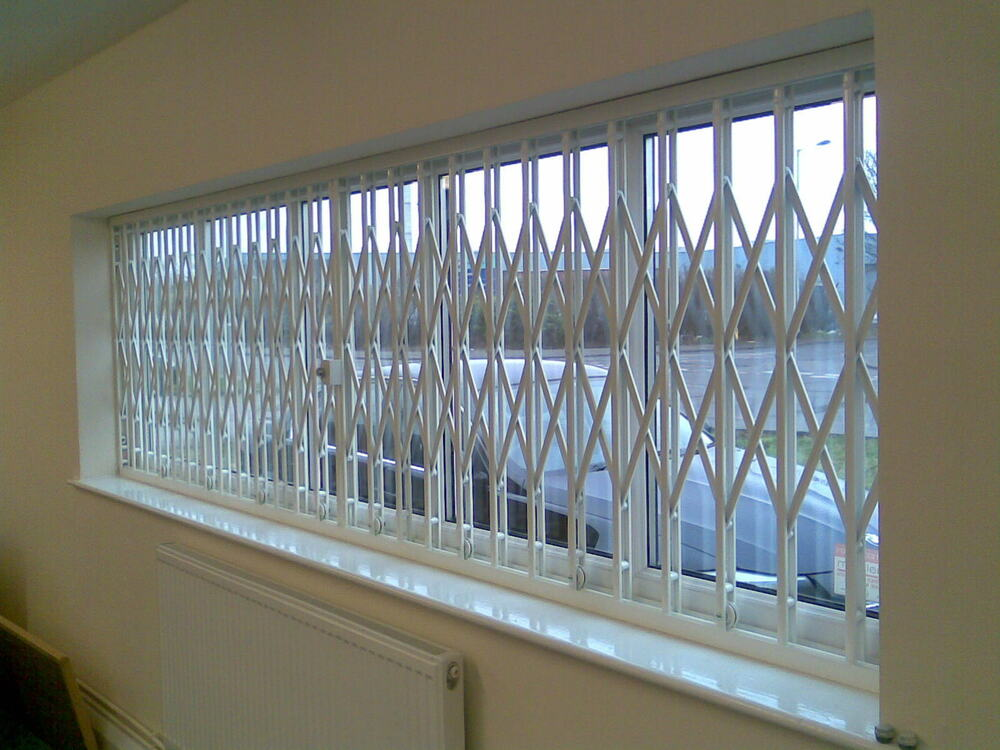 Window Door Security Grilles Shutters Concertina Grill