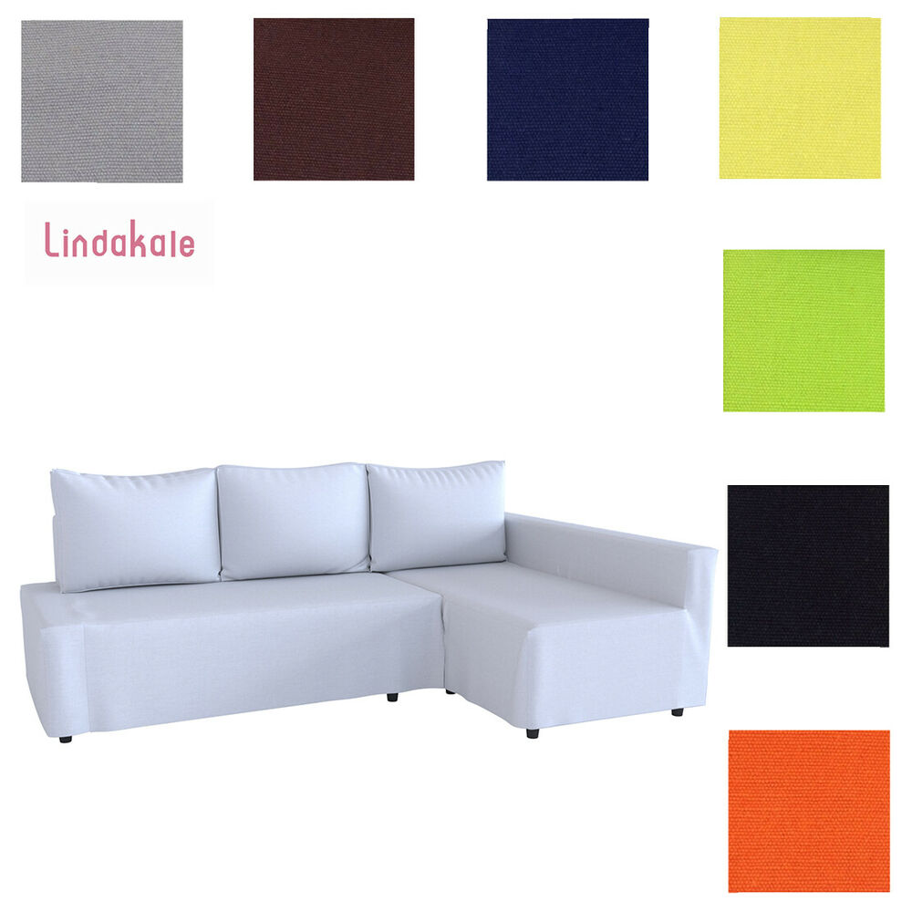 Custom Made Cover Fits Ikea Friheten Sofa Bed With Chaise