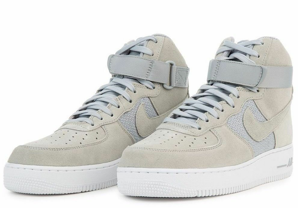 Nike Air Force 1 High '07 Pure Platinum Wolf Grey White 315121-041 Sizes (6-12)