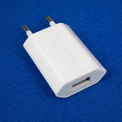 EU Plug USB AC Wall Charger Europe Power Adapter for iPhone Samsung