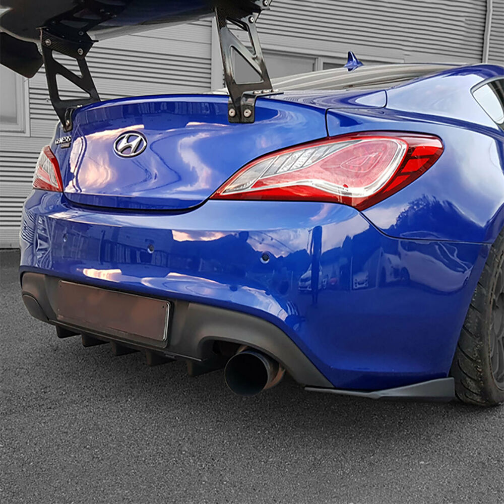 351 Best Genesis Coupe Images On Pinterest: New M&S ABS Black Matte Rear Bumper Diffuser For Hyundai