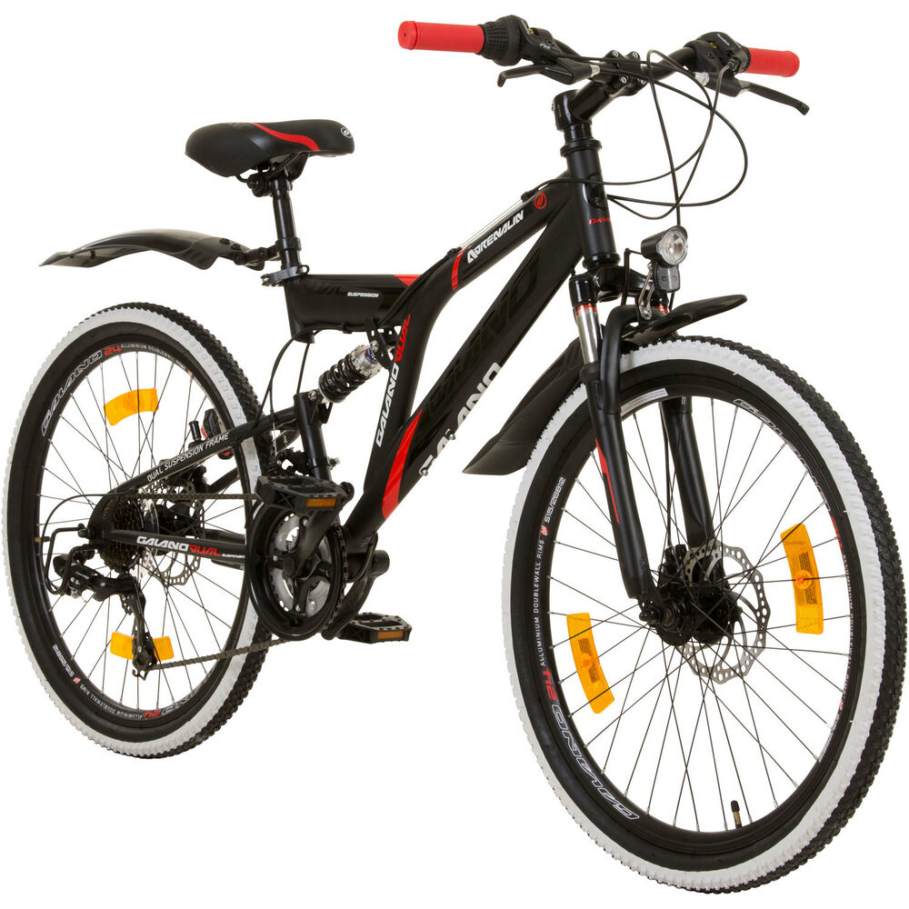 24 zoll mtb fully galano adrenalin ds mountainbike stvzo. Black Bedroom Furniture Sets. Home Design Ideas