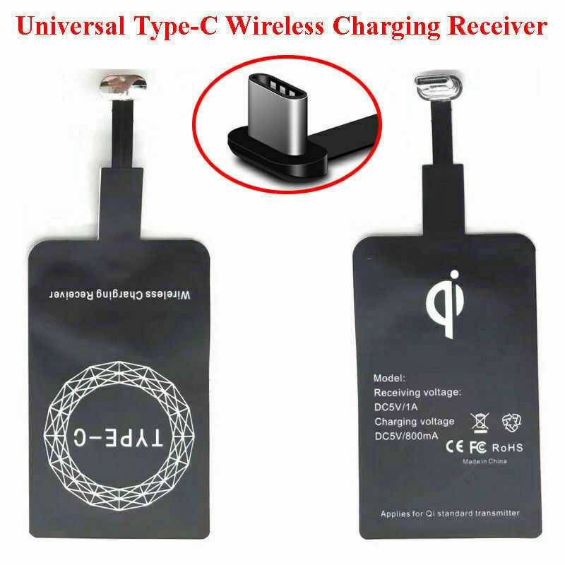 Qi Wireless Charging Receiver For Android Type C Universal