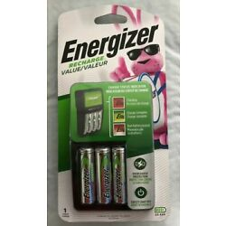 Kyпить Energizer Value Charger 4 AA NiMH Rechargeable Batteries Included CHVCMWB-4 New на еВаy.соm