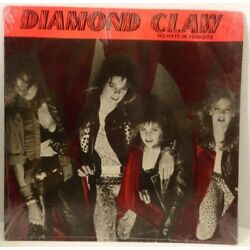 DIAMOND CLAW No Hate In Paradise - NEW SEALED 1987 EP Hard Rock Glam Heavy Metal