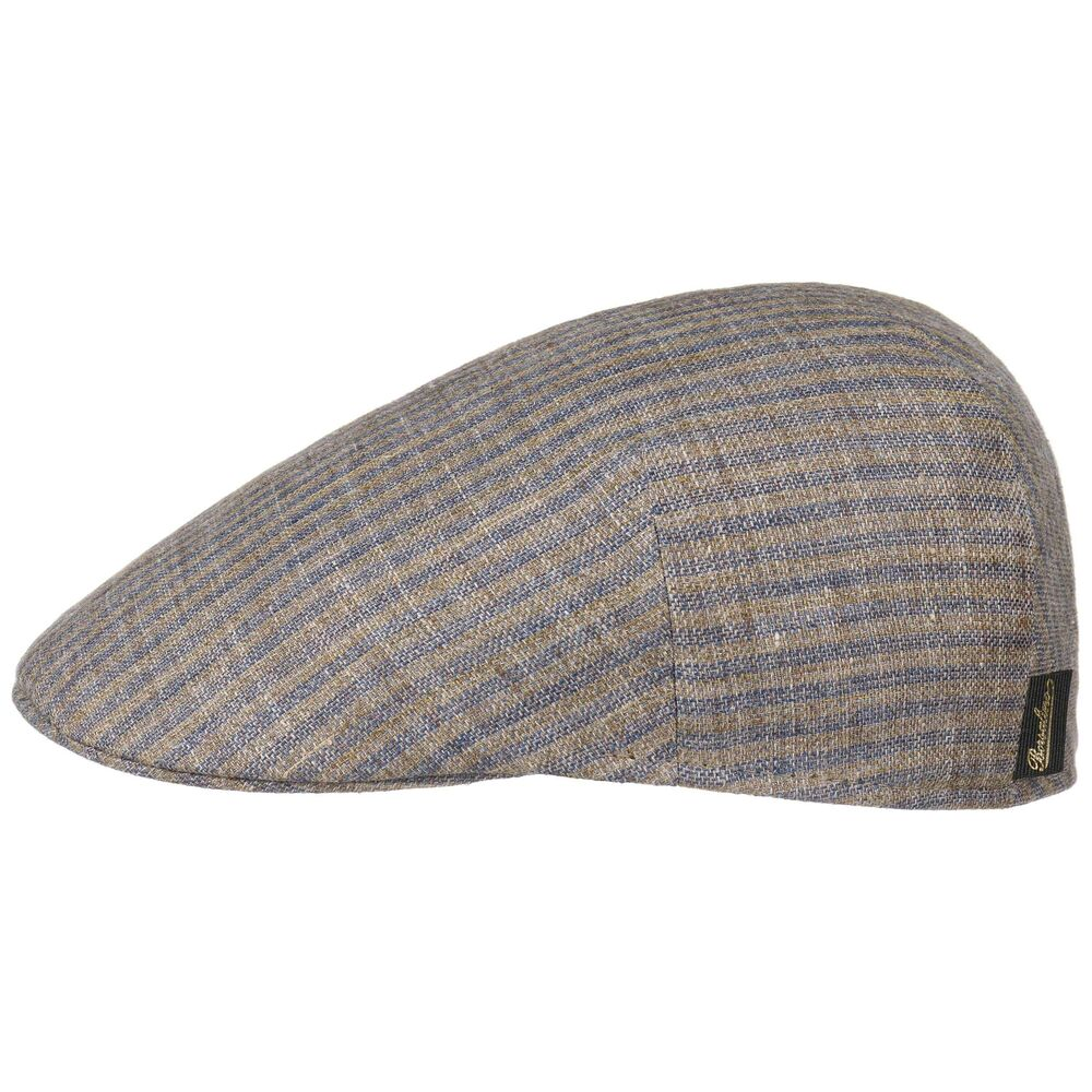 c937ae22b47 Borsalino Duckbill Stripes Flat Cap Men Summer hats ivy hat summer cap