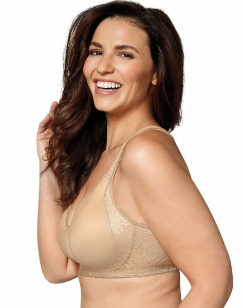 Playtex 18 Hour Seamless Wirefree Bra Back Side Smoothing TruSUPPORT Cool Dri