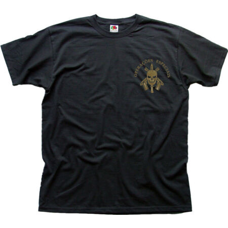 img-BOPE Tropa De Elite Battalion black cotton t-shirt 01475