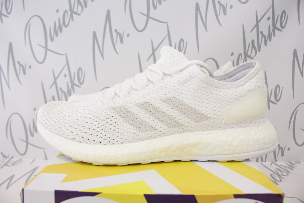 6cba72461 Details about ADIDAS PUREBOOST CLIMA SZ 9 CLOUD WHITE GREY CRYSTAL  ULTRABOOST BY8897