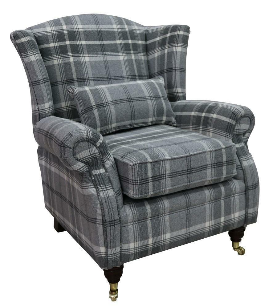 Ashley Wing Chair Fireside High Back Armchair Balmoral ...