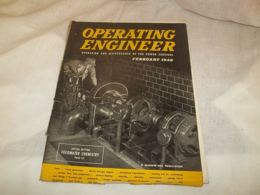 Details About Operating Engineer Magazine February 1948