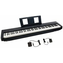 Yamaha P45 88-Key Weighted Action Digital Piano w/ Sustain Pedal & Power Supply