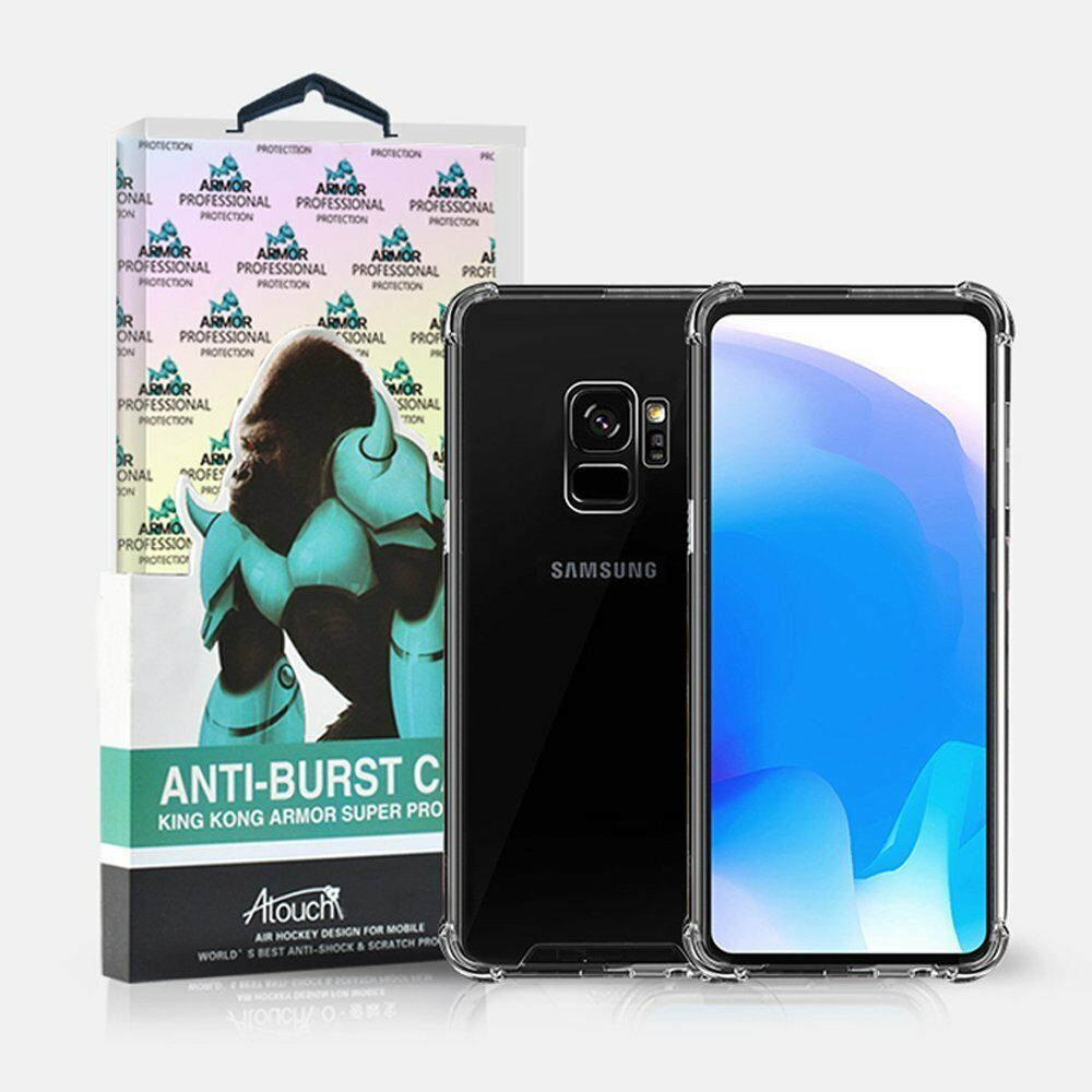 2c0350aa7b4 Details about Galaxy S9 Plus Case, King Kong Armor -Rugged Flexible &  Durable Shock Absorption