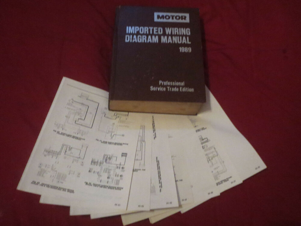 1989 Toyota Tercel Wiring Diagrams Schematics Set