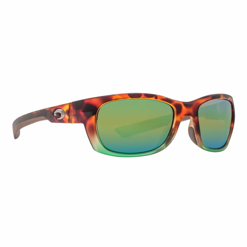 02a916fb5c3cd Details about NEW Costa Del Mar Trevally GT77OGMP Matte Tortuga Fade Frame   Green Mirror 580P