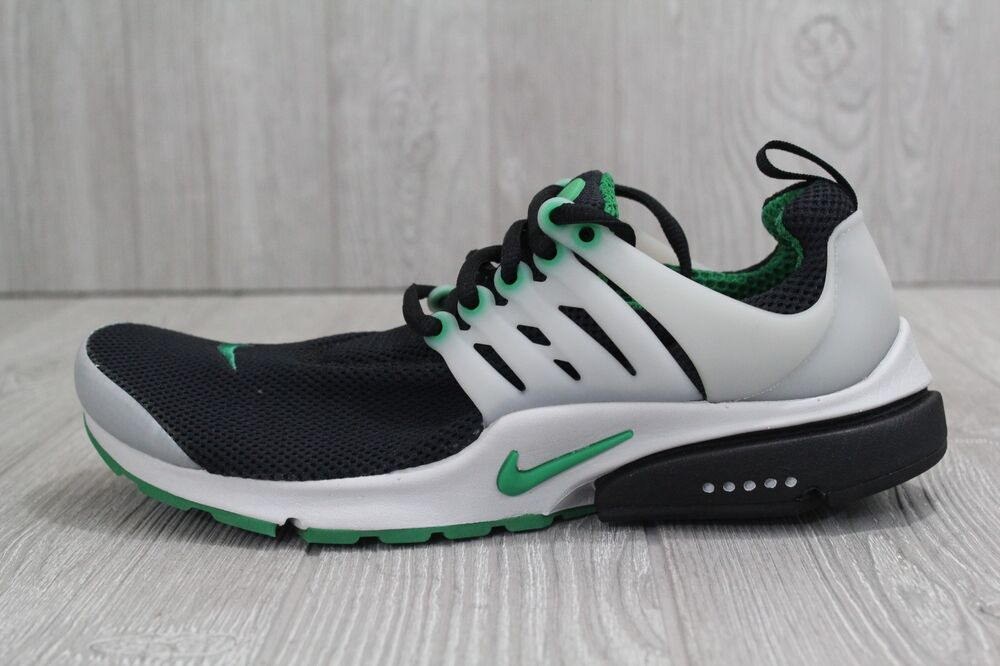 best sneakers d66e0 5c7e6 Details about 30 New Nike Air Presto Essential Black Green Running Shoes  848187 003 Men s 8-11