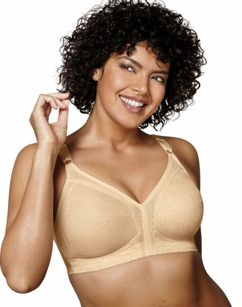 Playtex 18 Hour Sensational Support Wire free Bra Cups Womens Comfort Cushion