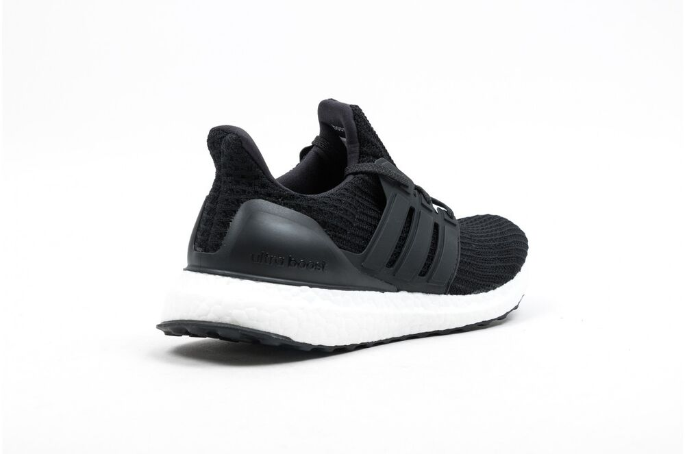 64dae035eaef4 Details about New Men s ADIDAS UltraBoost Ultra Boost 4.0 Running Sneaker - BB6166  Black White