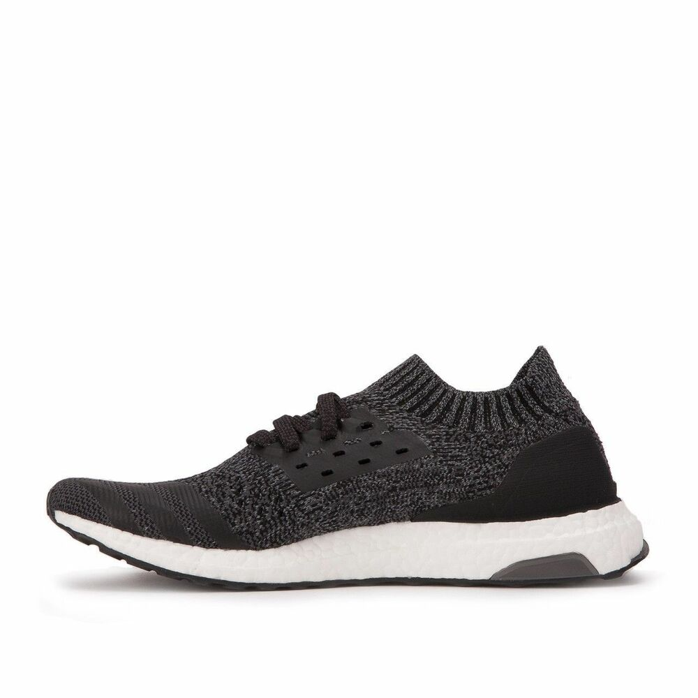 aafa3bc6ebfbe Details about New Men s Adidas Ultra Boost Uncaged Core Black Solid Grey  BY2551