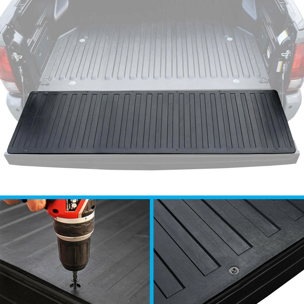 Pickup Truck Bed Tailgate Mat Rubber Liner For 07 17