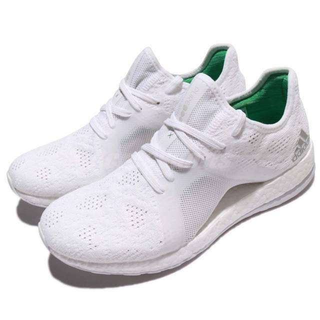 604b34fd8 Details about NEW Adidas PureBOOST X Element White Women Running Shoes  Sneakers Trainer BB6084