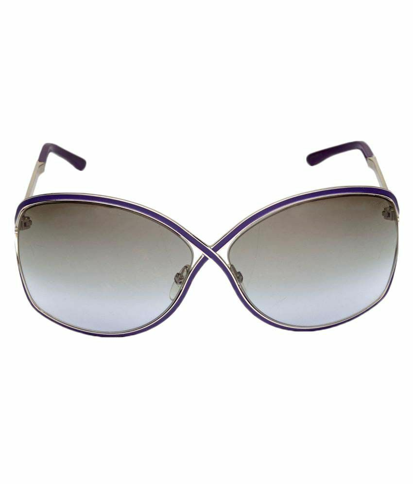9d055649bbf69 Details about NIB AUTH TOM FORD RICKIE FT 179 81Z PURPLE ENAMEL  SILVER  SUNGLASSES BOX CASE