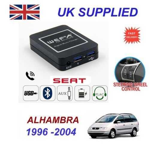 For Seat Alhambra Music Streaming Bluetooth Telephone