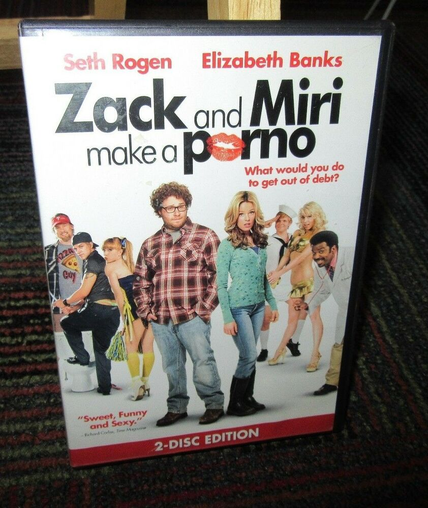 Details about ZACK & MIRI MAKE A PORNO 2-DISC DVD SET, SETH ROGEN,  ELIZABETH BANKS, GUC