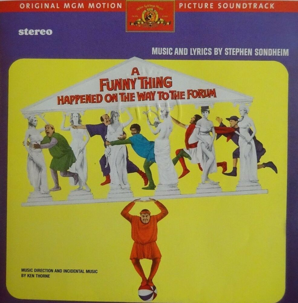 a critique of stephen sondheims a funny thing happened on the way to the forum The classic musical farce, a funny thing happened on the way to the forum, book by burt shevelove and larry gelbart with music and lyrics by stephen sondheim, danced and sang its way on stage this.