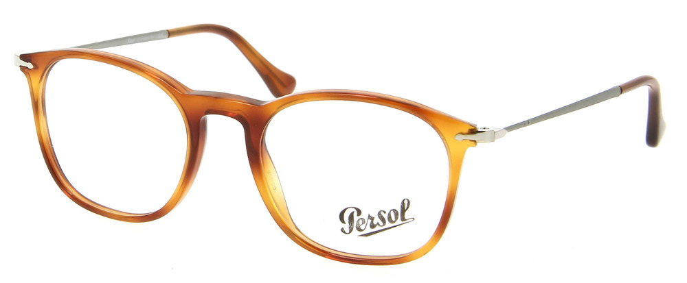 06785a628c4 Details about NEW ORIGINAL PERSOL 3124-V 96 Terra Di Siena Unisex Eyeglasses  50mm 19 140 ITALY