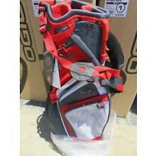 NEW Ogio 2018 CIRRUS RUSH RED 7 Way Divider Carry / Stand Bag