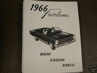 1966 ford fairlane wiring diagram manual ebay. Black Bedroom Furniture Sets. Home Design Ideas