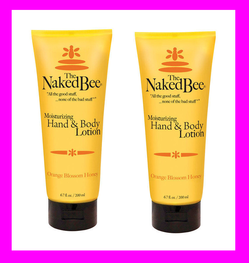 The Naked Bee Orange Blossom Honey Scent Hand Lotion 6.7