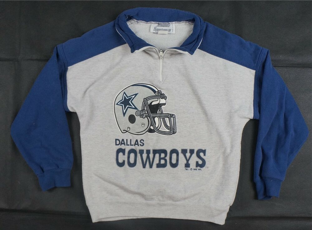 Details about Rare Vintage HUMMER SPORTSWEAR Dallas Cowboys 1992 Pullover  Sweatshirt 90s Youth a49ed910e