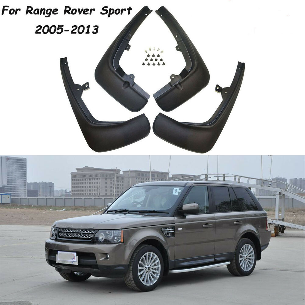 Range Rover Sport 2005 2013: OEM Splash Guards Mud Guards Flaps VPLSP0016 Fit For Range