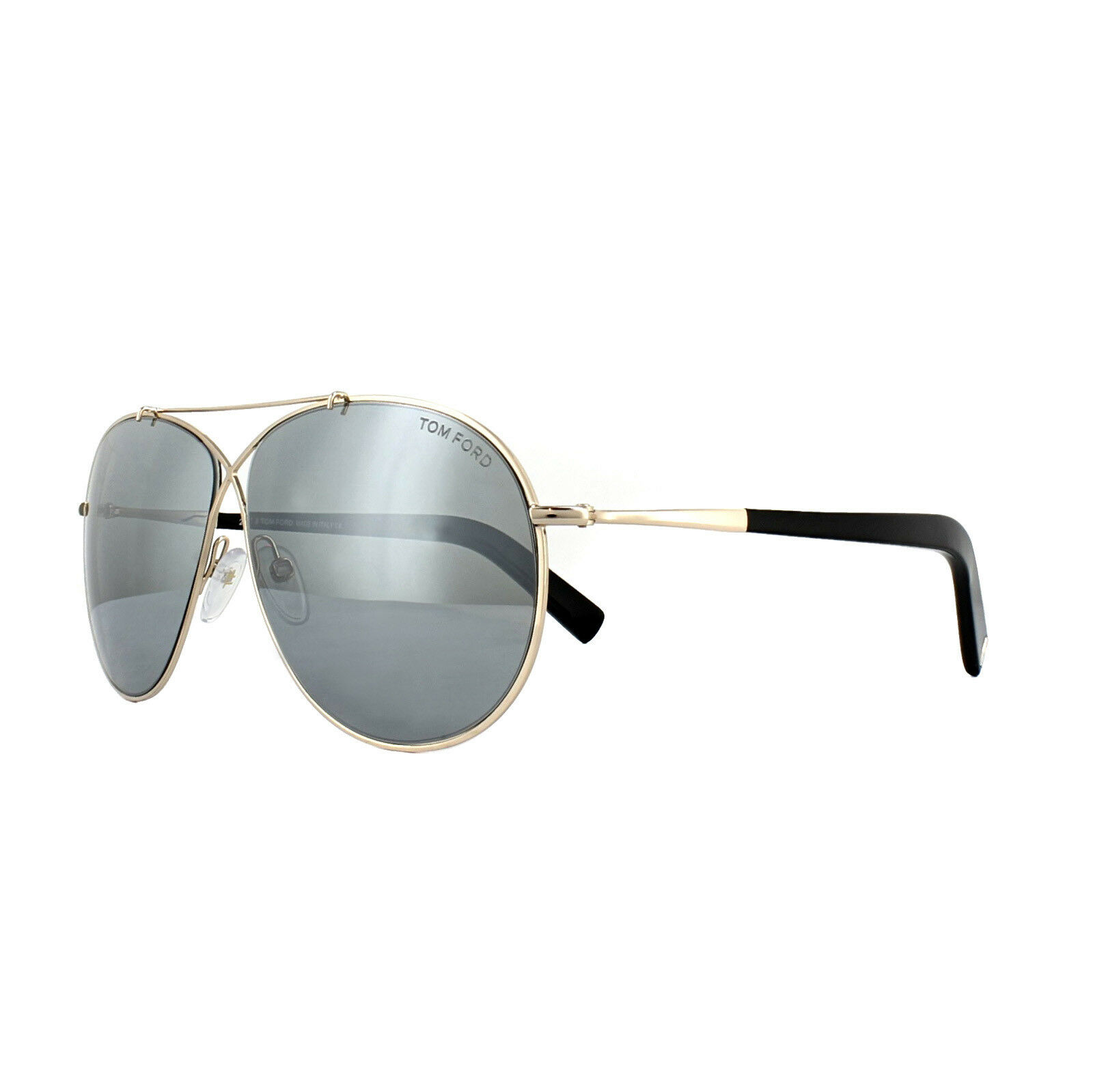 162f0936e27b3 ... 61 UPC 664689646494 product image for Tom Ford Sunglasses 0374 Eva 28q  Shiny Rose Gold Green Mirror