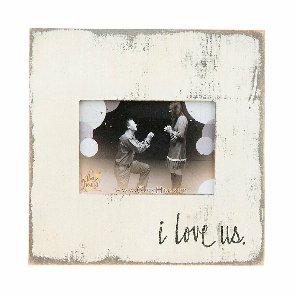 Glory Haus I Love Us Picture Frame 849046039922 Ebay