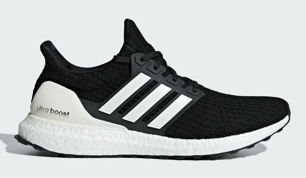 24c9838de7 New Men s ADIDAS UltraBoost Ultra Boost 4.0 Running Sneaker AQ0062 Black  White