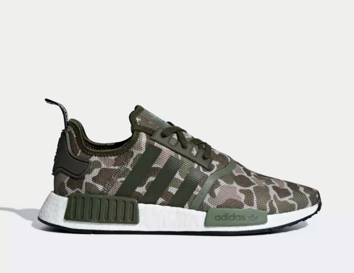 0d6da21018bc7 Details about New Adidas Men's Originals NMD R1 Duck Shoes (D96617)  Camouflage