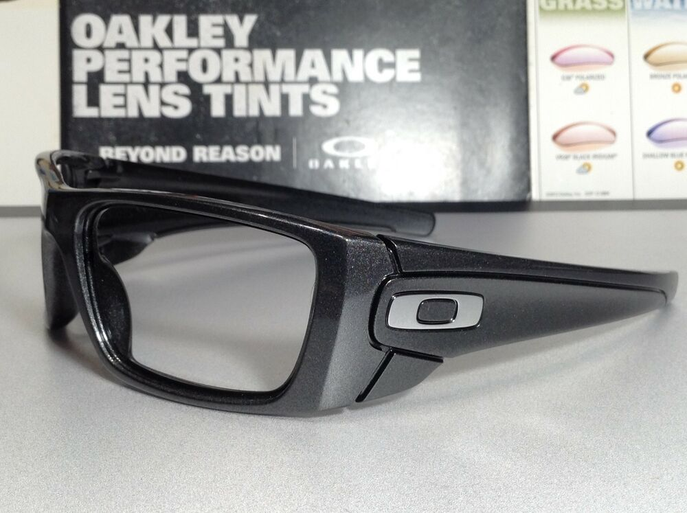 5e5d16d2ccb Details about Oakley Fuel Cell Granite w  Chrome Oakley Icons - SKU   9096-H760 Brand New