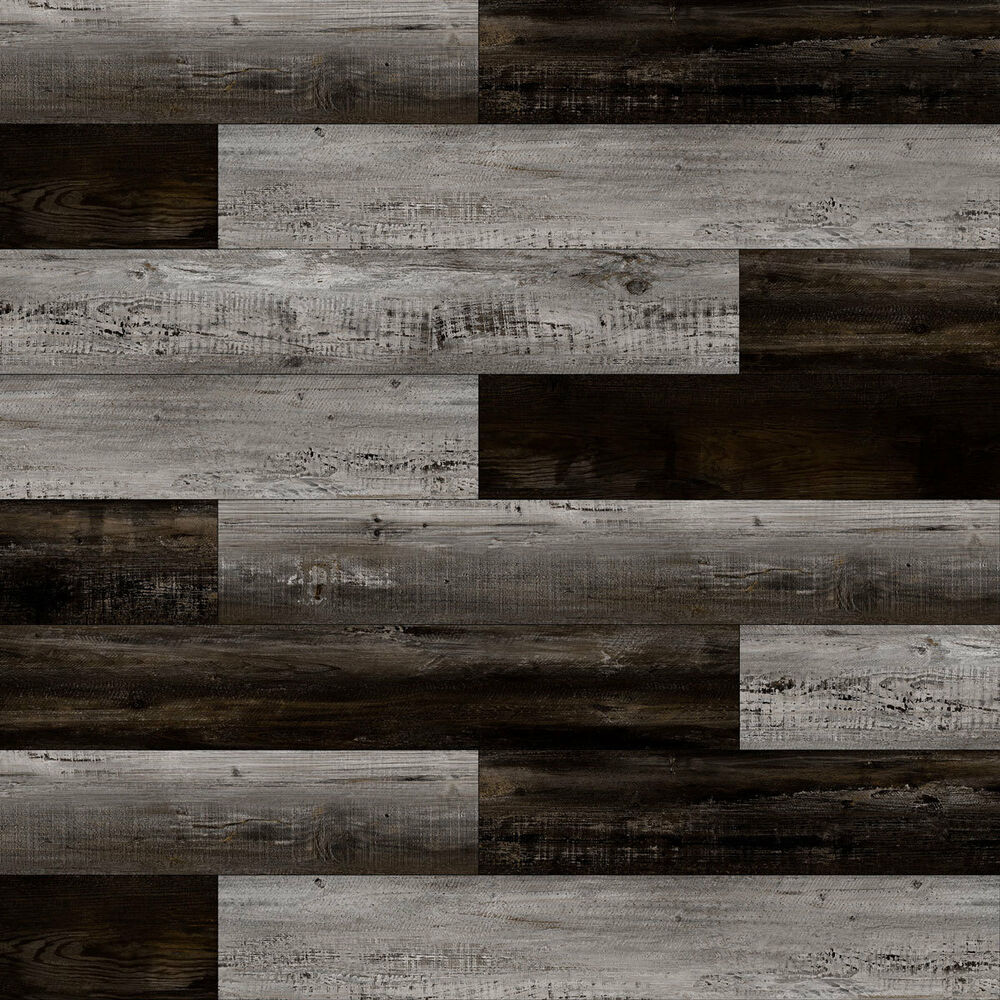 Details About 6 5mm Wpc Vinyl Flooring Lesscare Black Night Textured Finish