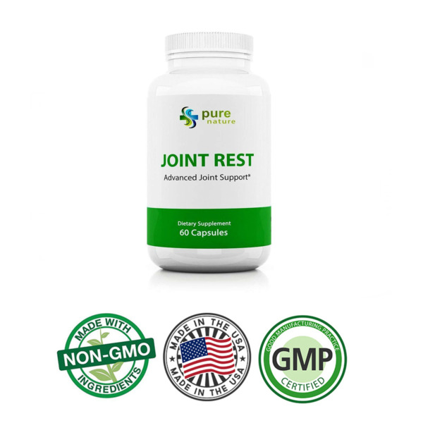 joint support with Turmeric and Glucosamine Joint Rest pure nature plus 60 caps