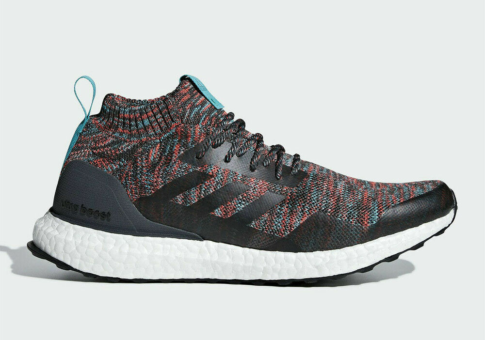 095ac22bb1a85 Details about Adidas Running Ultra Boost Mid Dark Grey Men Lifestyle  Sneakers New kith G26843