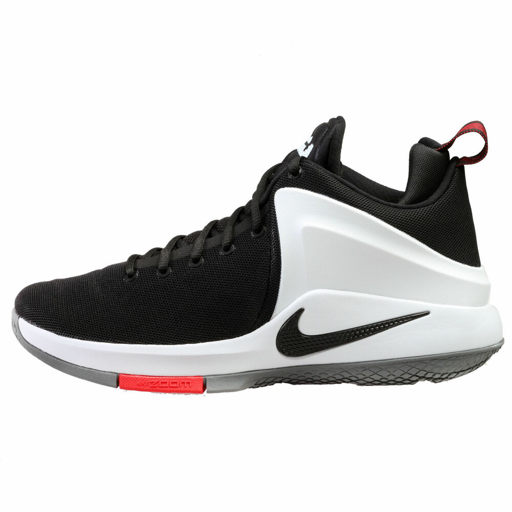 00c562b92552 Details about Nike Zoom Witness Lebron James Mens Basketball Shoes Black  852439 003 SIZE 10-11