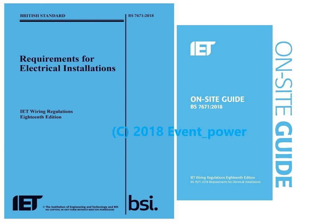 Phenomenal Bs 7671 Osg 2018 18Th Edition Blue On Site Guide Wiring Wiring Digital Resources Minagakbiperorg