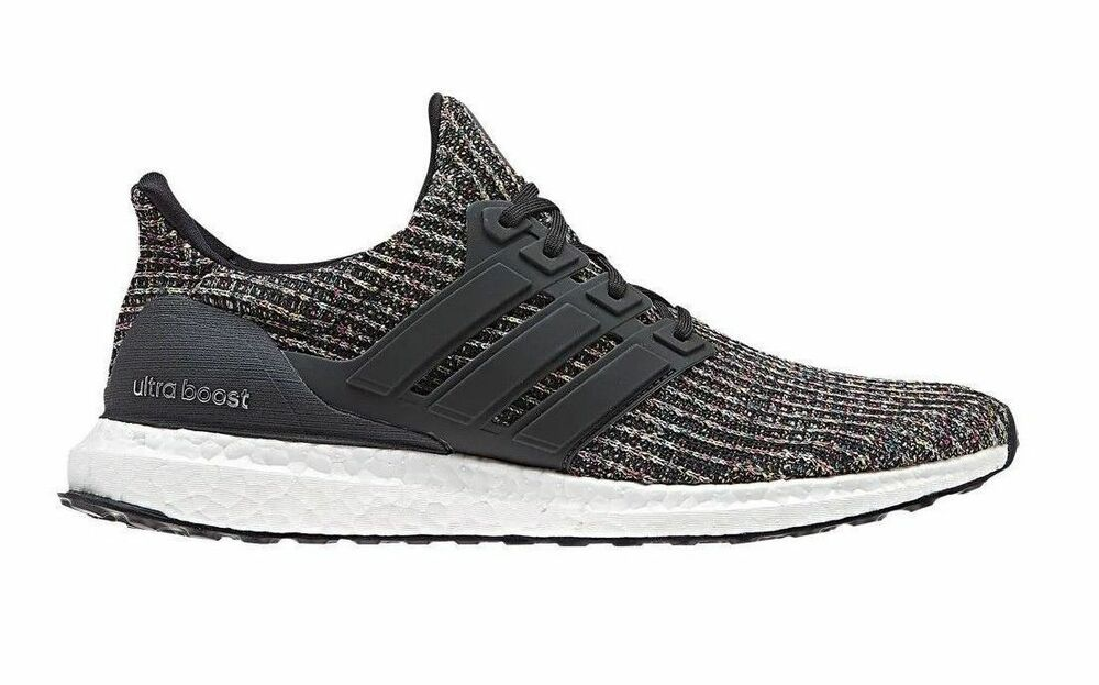 2823c1f7b NEW Adidas Ultra Boost 4.0 Black Carbon Ash Silver Men s Running Shoes  CM8110