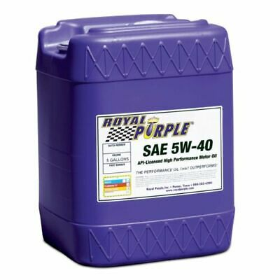 Royal Purple 05540 5 Gallon Pail 5W-40 API Licensed Motor Oil