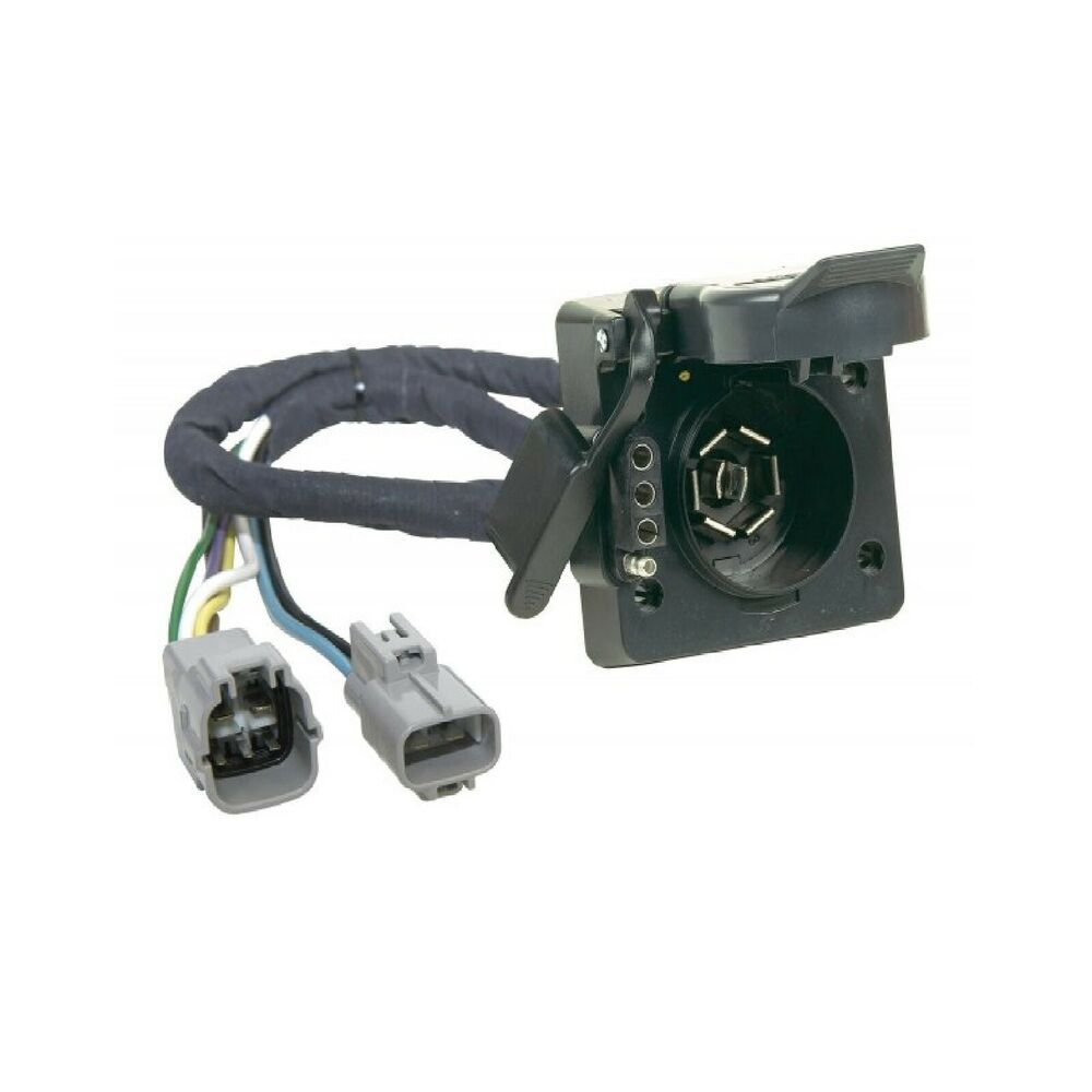 hopkins towing 43395 plug in simple trailer wire harness for 07 13